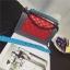 กระเป๋าหนัง ทรงชาแนลบอย Happy summer (Red-Gray) 10 นิ้ว thumbnail 2