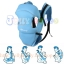 C10112เป้อุ้มเด็ก ปรับท่าอุ้มได้ 4แบบ(สีฟ้า)สินค้าจากต่างประเทศคุณภาพดี thumbnail 2