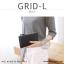 กระเป๋าสตางค์ผู้หญิง รุ่น GRID-L สีชมพูเข้ม ใบยาว สองซิป thumbnail 24