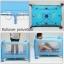 B10102 เตียงนอนเด็ก แบบน่ารัก สินค้าใหม่นำเข้าพร้อมชั้นวางที่เปลี่ยนผ้าอ้อม (A1สีฟ้า) thumbnail 3