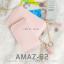 กระเป๋าสตางค์ผู้หญิง ทรงถุง รุ่น AMAZ-B2-L สีชมพูเข้ม thumbnail 15
