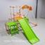พร้อมส่ง [[สินค้ามือสอง]] ** Kids Park 4 in 1 ชิงช้า+ปีนป่าย+สไลเดอร์+โหนบาร์ ชุดใหญ่ พับเก็บได้ง่ายๆ (ค่าส่งพัสดุ 305 / ขนส่งเอกชน 500 ) thumbnail 4