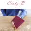 กระเป๋าสตางค์ผู้หญิง ทรงถุง สีแดง รุ่น CINDY-B thumbnail 5