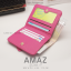 กระเป๋าสตางค์ผู้หญิง แบบบาง รุ่น AMAZ SlimII สีชมพู thumbnail 4