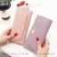กระเป๋าสตางค์ผู้หญิง รุ่น LETTER สีชมพู thumbnail 14