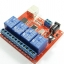 4-way control switch 12V computer USB drive free relay module PC Intelligent Controller thumbnail 3