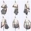 กระเป๋าหนัง รุ่น Loewe Hammock (Gray) Size 32 thumbnail 9