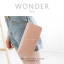 กระเป๋าสตางค์ผู้หญิง รุ่น WONDER สีชมพู thumbnail 1