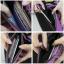 กระเป๋าสตางค์ผู้หญิง ทรงถุง กระเป๋าคลัทช์ สีม่วง รุ่น LILLY thumbnail 5