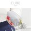 กระเป๋าสตางค์ ใส่เหรียญ รุ่น CUBE สีม่วง thumbnail 21