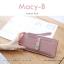 กระเป๋าสตางค์ผู้หญิง ทรงถุง รุ่น MACY-B สีแดง อินเดีย thumbnail 4
