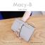 กระเป๋าสตางค์ผู้หญิง ทรงถุง รุ่น MACY-B สีแดง อินเดีย thumbnail 8