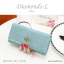 กระเป๋าสตางค์ผู้หญิง ใบยาว รุ่น DIAMONDS-L สีน้ำเงิน thumbnail 23