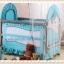 TB 12101 เตียงนอนเด็ก ยุโรปเปี้ยนสไตล์ สีฟ้า TB1 thumbnail 1