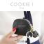 กระเป๋าสตางค์ ใส่เหรียญ รุ่น COOKIE I สีดำ thumbnail 1