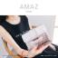 กระเป๋าสตางค์ผู้หญิง ขนาดกลาง รุ่น AMAZ สีม่วง thumbnail 37