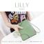 กระเป๋าสตางค์ผู้หญิง ทรงถุง กระเป๋าคลัทช์ สีม่วง รุ่น LILLY thumbnail 12