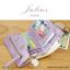 กระเป๋าสตางค์ผู้หญิง JULIUS สีม่วง thumbnail 4