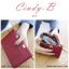 กระเป๋าสตางค์ผู้หญิง ทรงถุง สีแดง รุ่น CINDY-B thumbnail 1