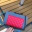 กระเป๋าหนัง ทรงชาแนลบอย Happy summer (Red-Gray) 10 นิ้ว thumbnail 10