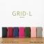 กระเป๋าสตางค์ผู้หญิง รุ่น GRID-L สีชมพูเข้ม ใบยาว สองซิป thumbnail 10