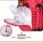 TP12058 กระเป๋าเก็บสัมภาระคุณแม่ ใช้ได้ทั้งเป็นเเบบหิ้วและสะพายเป้ ลายจุด สีแดง thumbnail 4