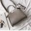 กระเป๋าหนังวัวแท้ Fendi Gray (21x17x12cm) thumbnail 3