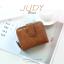 กระเป๋าสตางค์ผู้หญิง JUDY สีน้ำตาล thumbnail 1