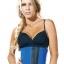 PLEO Waist Trainer Latex 100% สายรัดเอวคุณภาพสูงจากUSA - สีน้ำเงิน thumbnail 1