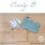 กระเป๋าสตางค์ผู้หญิง ทรงถุง สีแดง รุ่น CINDY-B thumbnail 17