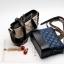 กระเป๋า chanel gabrielle bag size 20 (Black) หนังแกะ thumbnail 8