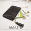 กระเป๋าสตางค์ผู้หญิง ทรงถุง รุ่น AMAZ-BL สีดำ thumbnail 6