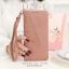 กระเป๋าสตางค์ผู้หญิง LIZE-L สีชมพู thumbnail 2