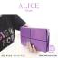 กระเป๋าสตางค์ผู้หญิง ทรงถุง กระเป๋าคลัทช์ สีชมพู รุ่น ALICE thumbnail 22