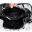 กระเป๋าหนังวัว ทรงขนมจีบ (Black) thumbnail 11