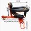 C10167 เก้าอี้นั่งเด็กสำหรับติดตั่งรถจักยานด้านหน้า ที่ก้ันสีดำแบบที่กั้นเต็มตัว thumbnail 5