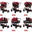 CS10170 รถเข็นเด็ก ที่นั่งคู่ Premium Red Wine สีแดง thumbnail 6