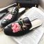 รองเท้า หนัง แท้ Gucci style 002 black size38 thumbnail 6