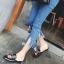 รองเท้า หนัง แท้ Gucci style 002 black size38 thumbnail 7