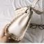 กระเป๋าหนังวัวแท้ Fendi Gray (21x17x12cm) thumbnail 19
