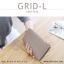 กระเป๋าสตางค์ผู้หญิง รุ่น GRID-L สีชมพูเข้ม ใบยาว สองซิป thumbnail 16