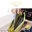 กระเป๋าสตางค์ผู้หญิง ทรงถุง กระเป๋าคลัทช์ สีชมพู รุ่น ALICE thumbnail 18