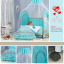 TB 12101 เตียงนอนเด็ก ยุโรปเปี้ยนสไตล์ สีฟ้า TB1 thumbnail 2