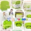 C10150 เก้าอี้นั่งทานข้าวสำหรับเด็ก Booster Seat สีเขียว thumbnail 3
