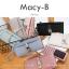 กระเป๋าสตางค์ผู้หญิง ทรงถุง รุ่น MACY-B สีแดง อินเดีย thumbnail 6
