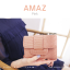 กระเป๋าสตางค์ผู้หญิง ขนาดกลาง รุ่น AMAZ สีม่วง thumbnail 32