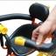 C10167 เก้าอี้นั่งเด็กสำหรับติดตั่งรถจักยานด้านหน้า ที่ก้ันสีดำแบบที่กั้นเต็มตัว thumbnail 4