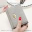 กระเป๋าสตางค์ผู้หญิง ใบสั้น รุ่น DIAMONDS-S สีดำ thumbnail 18