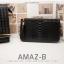 กระเป๋าสตางค์ผู้หญิง ทรงถุง รุ่น AMAZ-BL สีดำ thumbnail 2