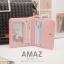 กระเป๋าสตางค์ผู้หญิง แบบบาง รุ่น AMAZ SlimII สีชมพู thumbnail 12